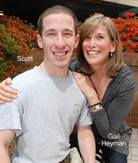 Gail and Scott Heyman.