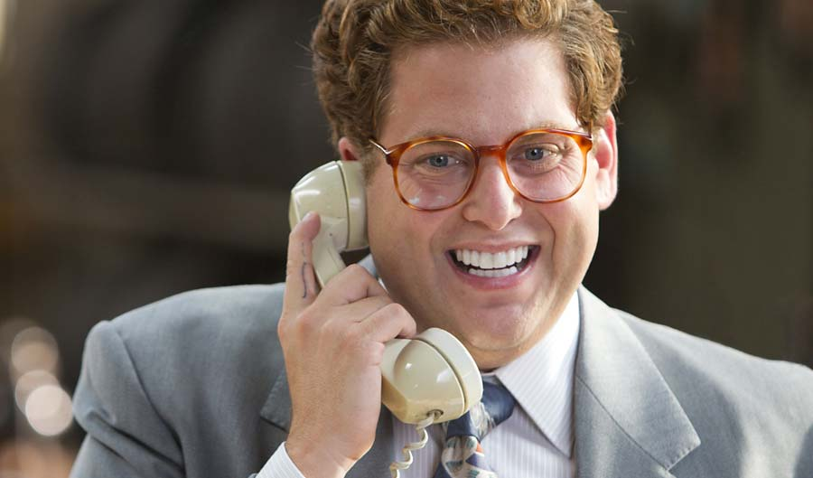 Jonah Hill teeth in Wolf of Wall Street Movie.