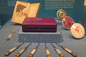 queen victoria personal oral hygiene instruments.