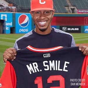 BaseballsFranciscoLindorShinesasMrSmile