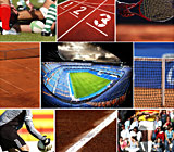 Sport Pictures collage