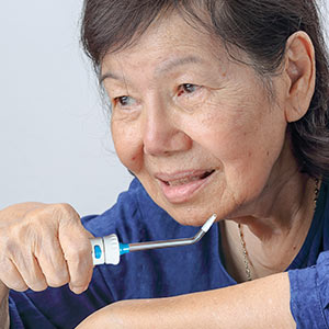 Not Crazy about Flossing? Try a Water Flosser - De Pere