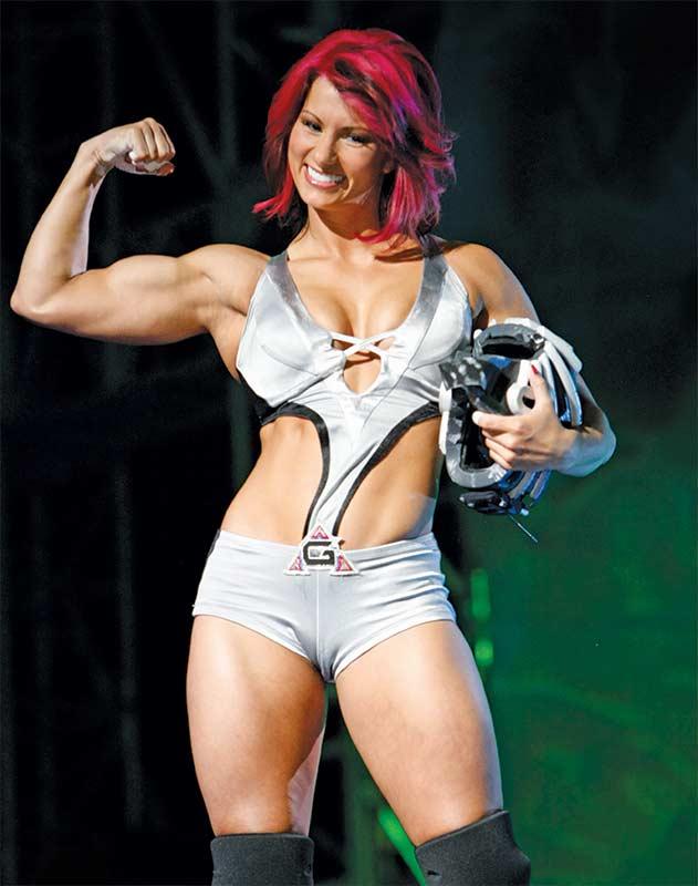 American Gladiators Jen Widerstrom.