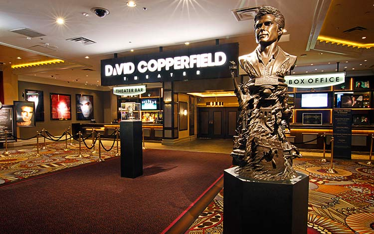 David Copperfield Theatre at the MGM Grand in Las Vegas.