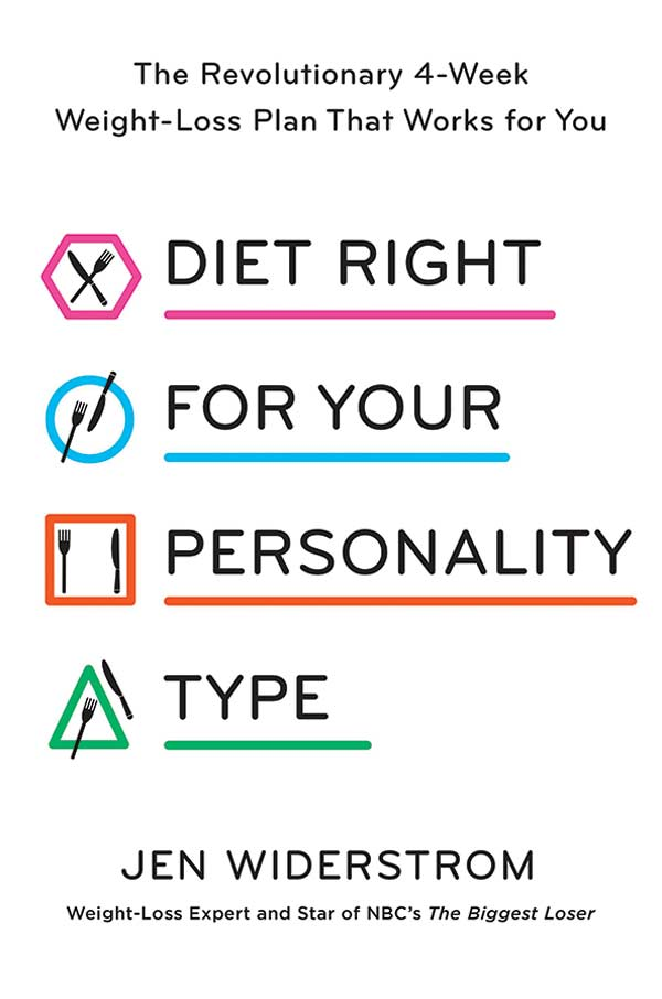 Diet Right for Your Personality Type Book.