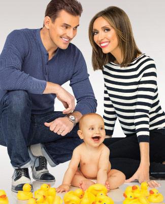 Giuliana and Bill Rancic and Baby Duke.