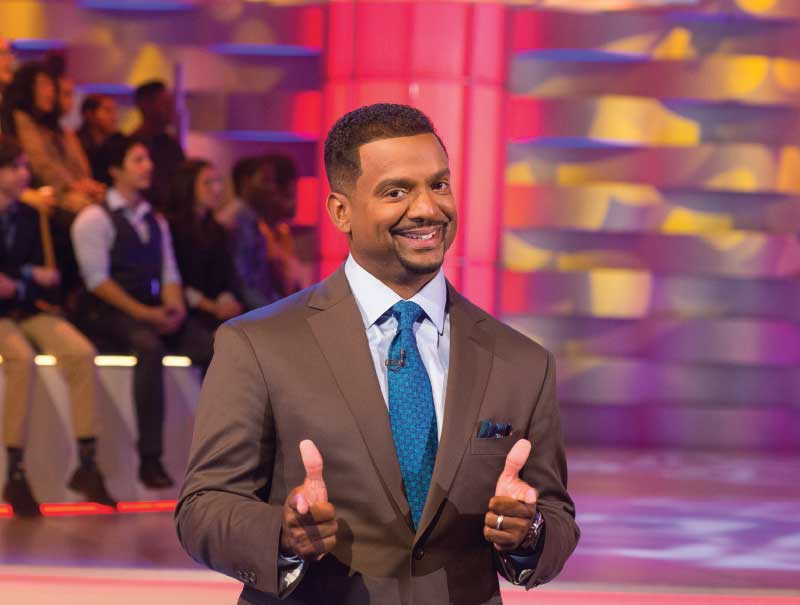 Alfonso Ribeiro host of AFV.