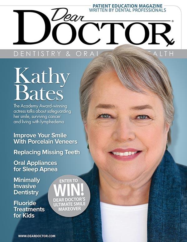 Kathy Bates - Dear Doctor magazine.
