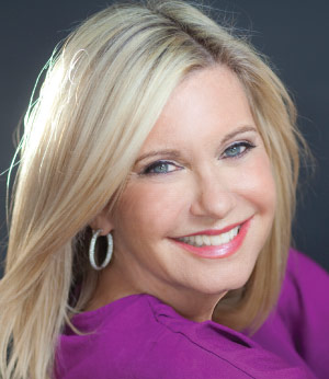 olivia newton john talks healthy cooking life after