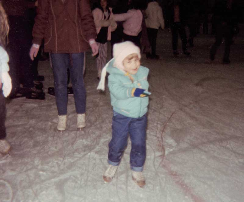 Tara Lipinski childhood skating.