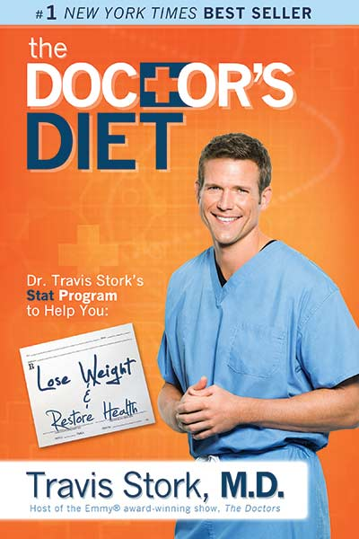 The Doctor's Diet book by Travis Stork MD.