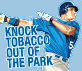 Major League Baseball Players Can No Longer Flaunt Tobacco Use