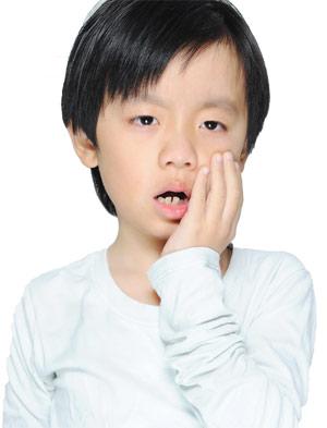 Child Toothache.