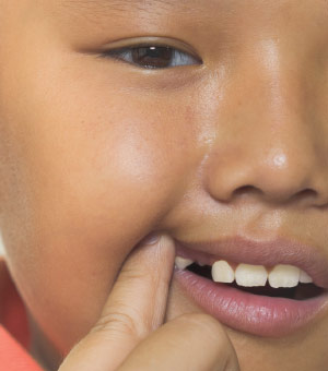 Importance of baby teeth.