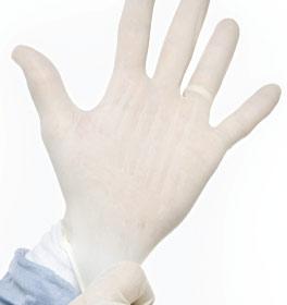 Latex glove allergies