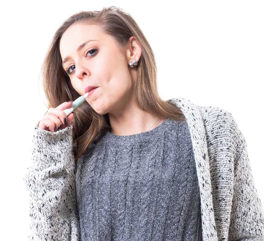 Vaping and oral health.