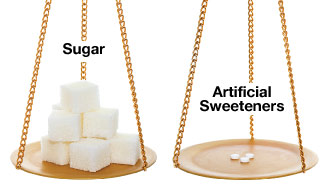 sugar vs artificial sweeteners Sugar & sweeteners share print  sugar alcohols & polydextrose lactitol  pregnant women should not consume excessive products containing artificial .