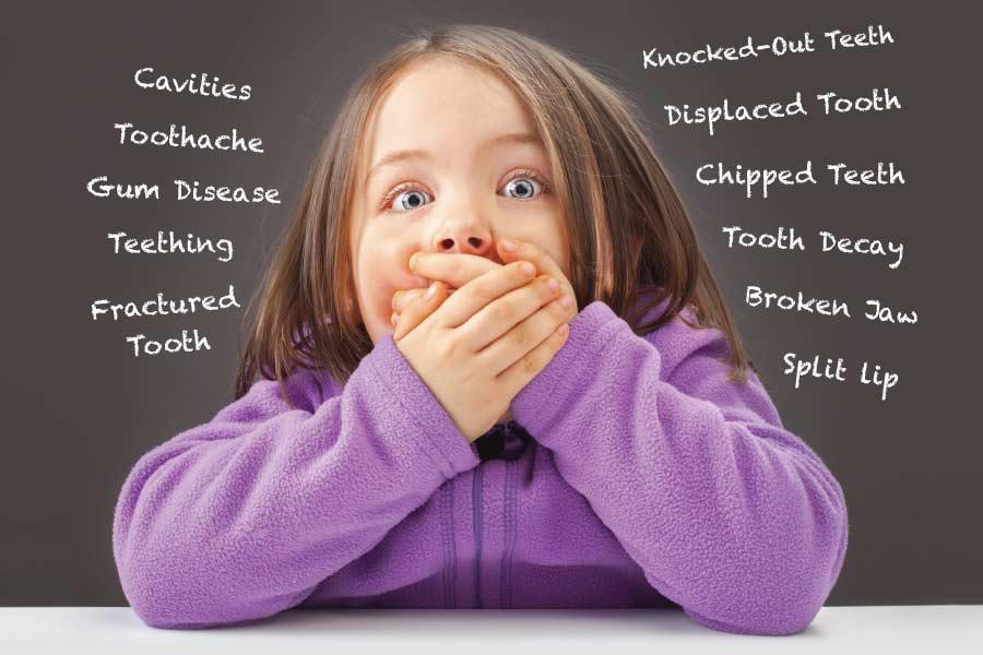 Children's dental injuries.
