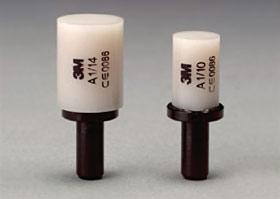Blocks of dental ceramic for CAD/CAM Cerec.