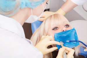 Dental dam.
