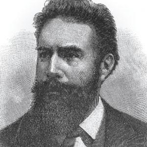 German scientist Wilhelm Conrad Rontgen.