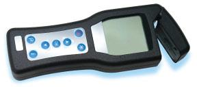 Testing meter.