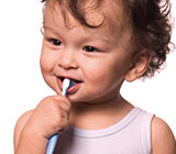 How much toothpaste should your child be using?