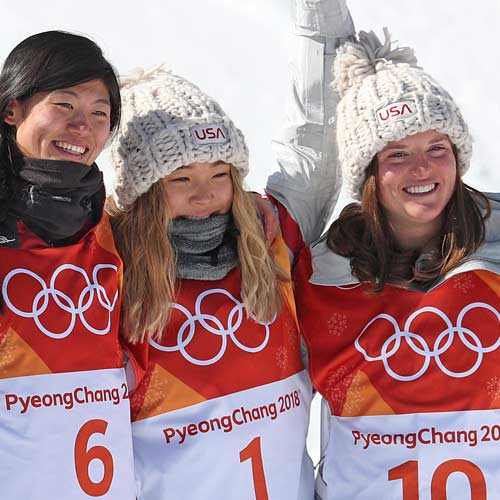 Olympic Snowboarders Go for the Gold…Mouthguard!