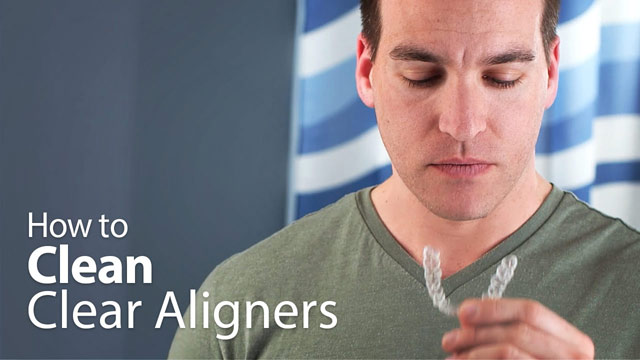 How to Clean Clear Aligners Video