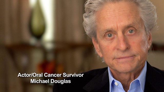 Michael Douglas Oral Cancer Video