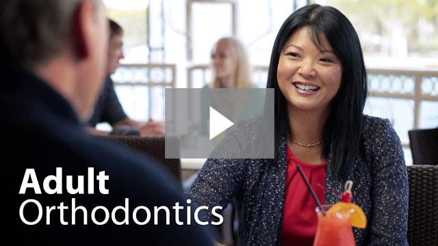 Adult orthodontics video thumbnail