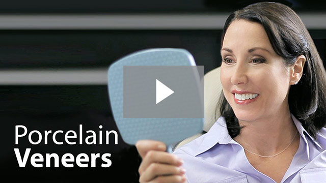 Click to watch and learn more about porcelain veneers