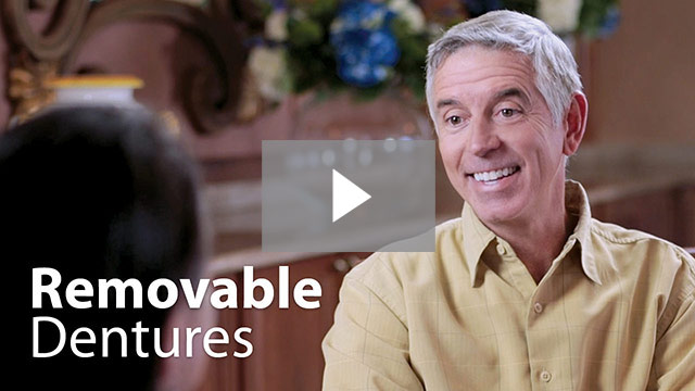 Click to watch and learn more about removable dentures