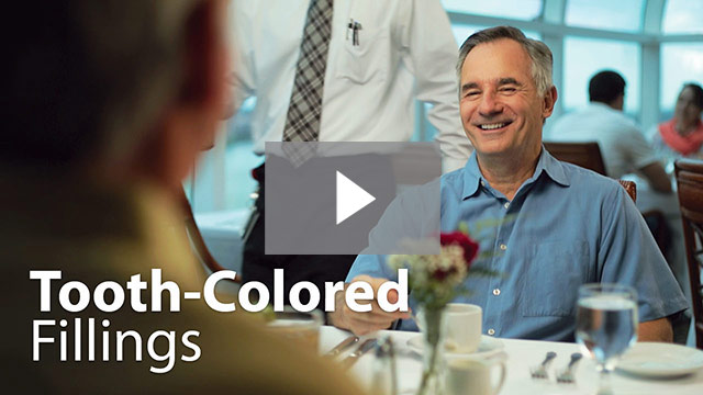 Click to watch and learn more about tooth colored fillings