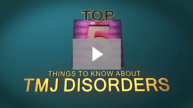 Things to Know About TMJ