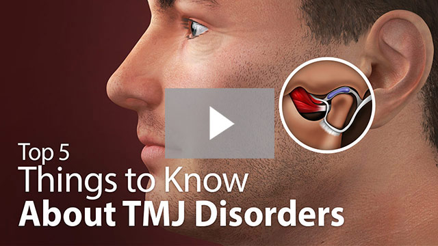top 5 things to know about TMJ disorders video thumbnail