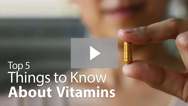things to know about vitamins