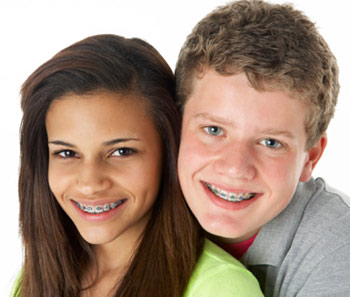 Adolescent orthodontic care and braces