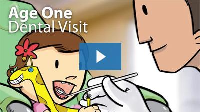 Age one dental visit video