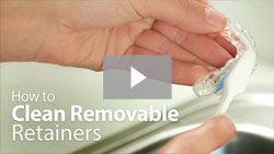 How to Clean Removable Retainers