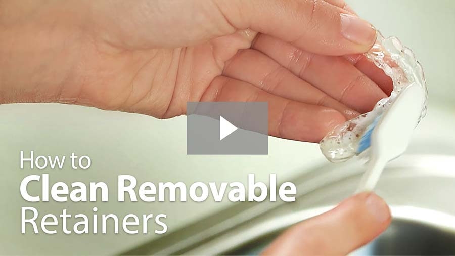 How to Clean Removable Retainers video