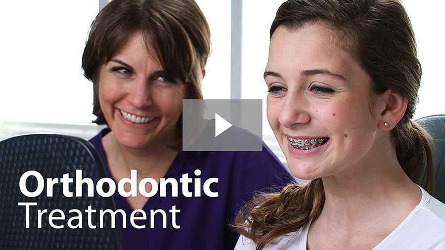 Orthodontic treatment video