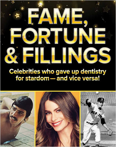 Celebrities who gave up dentistry for stardom.