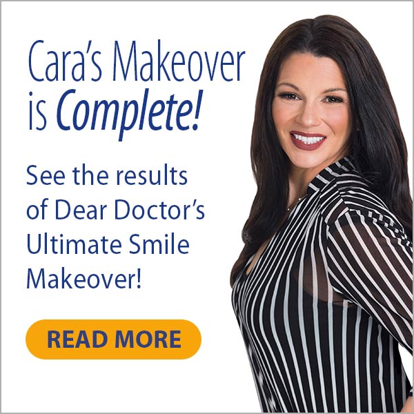 Cara smile makeover results.