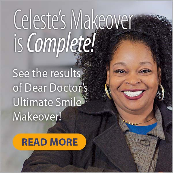 Celeste smile makeover results.