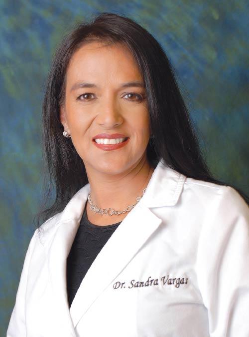 Dr. Sandra L. Vargas.
