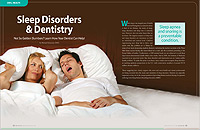 Sleep Disorders and Dentistry - Dear Doctor Magazine