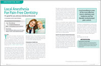 Concept Dentistry - Sedation Dentistry image 2 - Local Anesthesia for Pain-Free Dentistry