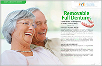 Removable Full Dentures - Dear Doctor Magazine - Macon GA
