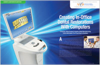 CAD CAM - Dear Doctor Magazine | Dental Bridges and Crowns in Chula Vista CA | Sunbow Family Dentistry